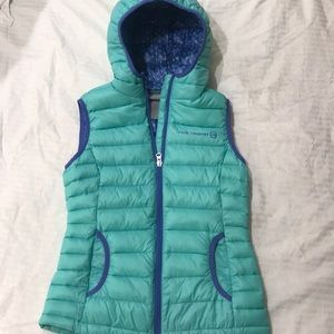 Free Country puffer vest girls size 10/12